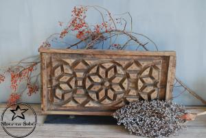 Gedecoreerde houten plaat