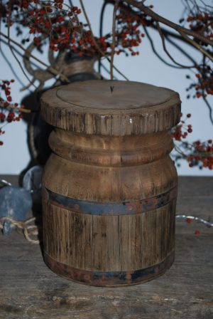 houten kandelaar